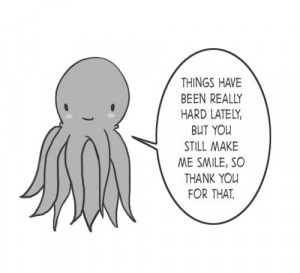 ... me smile quotes cute black and white smile life hard octopus thank you