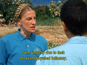 Am Grouchy Due to Lack of Recent Physical Intimacy