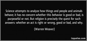 More Warren Weaver Quotes