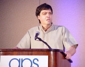 Dan Ariely speaking at the theme program Choices.