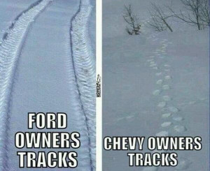 Chevy Better than Ford Jokes