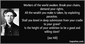 More Joe Hill Quotes