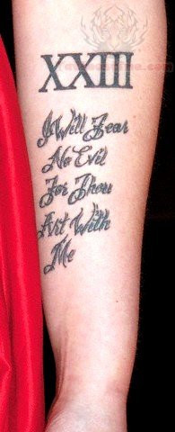 Roman Military Tattoos Quote roman numeral tattoo on