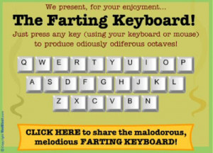 The Odiferous Farting Keyboard