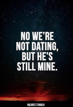 He's mine. I'm talking to you Malin More