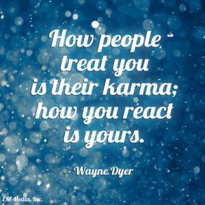 Karma Quotes Tumblr Quote - karma by rabidbribri