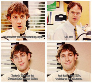 Jim VS Dwight -- The Office