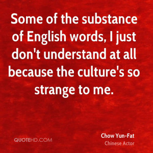 Chow Yun-Fat Quotes