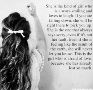 She's the kind of girl..
