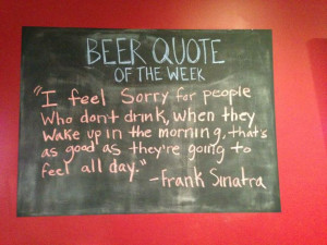 Beer Quote of the Week