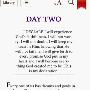 joel osteen i declare day 2