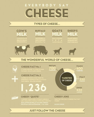 ... from what animal the milk came from, cheese jokes and cheese quotes