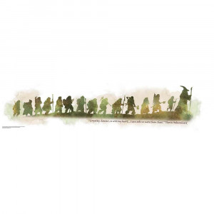 Removable Wall Decals - The Hobbit: An Unexpected Journey Quote Wall ...