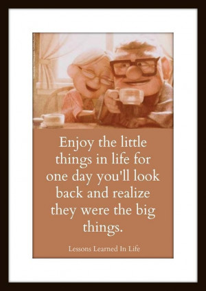 Enjoy the little things in life... :)