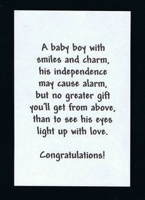 Baby Boy Quotes |Pinned from PinTo for iPad|
