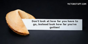 Fortune cookie inspirational #quote