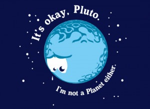 funny, moon, pluto, quote, separate with comma, text