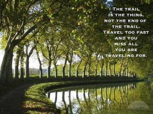 Louis L'Amour #quote - My Favorite Quote from Ride the Dark Trail ...