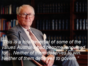 Former PM Malcolm Fraser, on the major parties' treatment of asylum ...