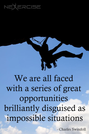 disguised as impossible situations charles swindoll quote