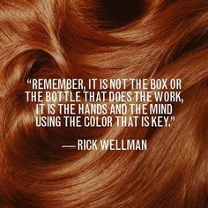 Remember, it's not the box or the bottle that does the work; it is the ...