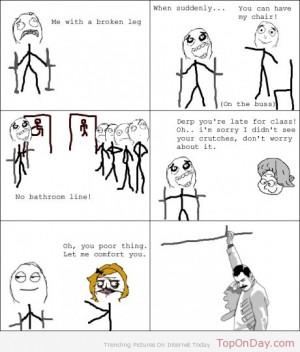 funny broken leg images