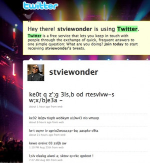 just love stevie wonder s tweets funny twitter stevie