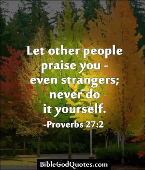 Praise God Bible Quotes
