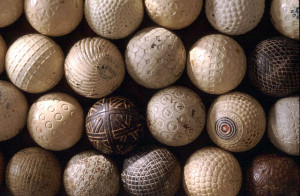 Dr. Wiren has one of the most unique and extensive golfball ...