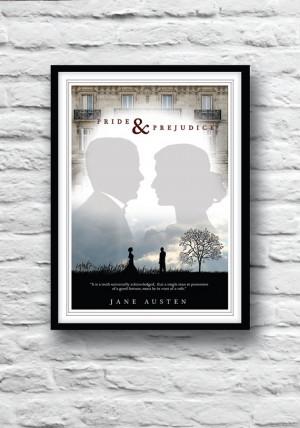 Pride and Prejudice, Jane Austen, Quote Poster, Movie poster ...