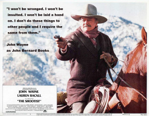John Wayne Cowboy Quotes A john wayne de frente.