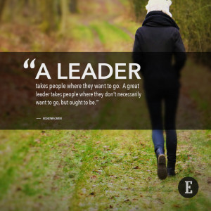 leader is best when people barely know he exists, when his work ...
