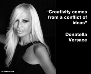 Donatella Versace on Creativity