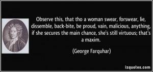 More George Farquhar Quotes