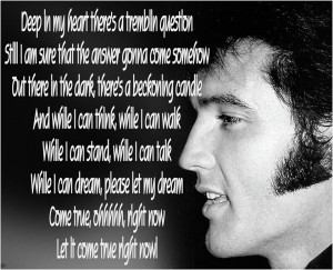 MM-064: If I can Dream ~ Elvis Presley