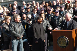 WILD HOGS FILM STARS JOIN GEORGIA GOVERNOR SONNY PERDUE AT STATE ...