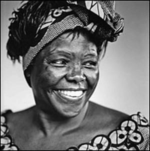 Wangari Maathai Outlines 'Challenge For Africa'