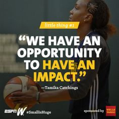 Small Wonders - Tamika Catchings' foundation helps kids achieve dreams