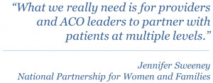 Key Takeaway: Patient Engagement is Critical to the Success of ACOs
