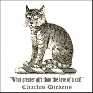 Charles Dickens Loved Cats