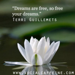 What do you dream about? #SocialCaffeine