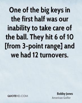Bobby Jones Golf Quotes
