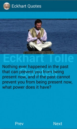 Eckhart Tolle Quotes SCREENSHOTS