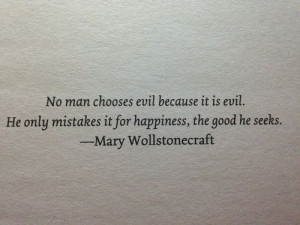 Great quote from Mary Wollstonecraft