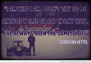 Sebastian Vettel Quote