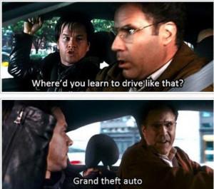 Impressive Driving Skills - Car humor