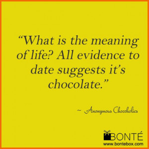 BonteBox #chocolate #love #chocoholic #quotes #jokes www.bontebox.com