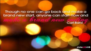 Description from Fresh Start New Beginning Quote New Year wallpaper :