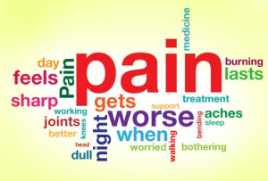 down make it hard to work what makes the pain better or worse specific ...