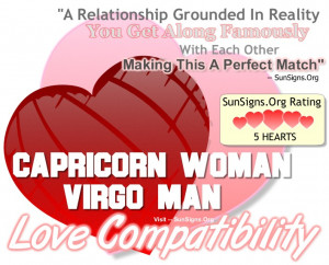 Capricorn Woman And Virgo Man – A Grounded And Perfect Match!